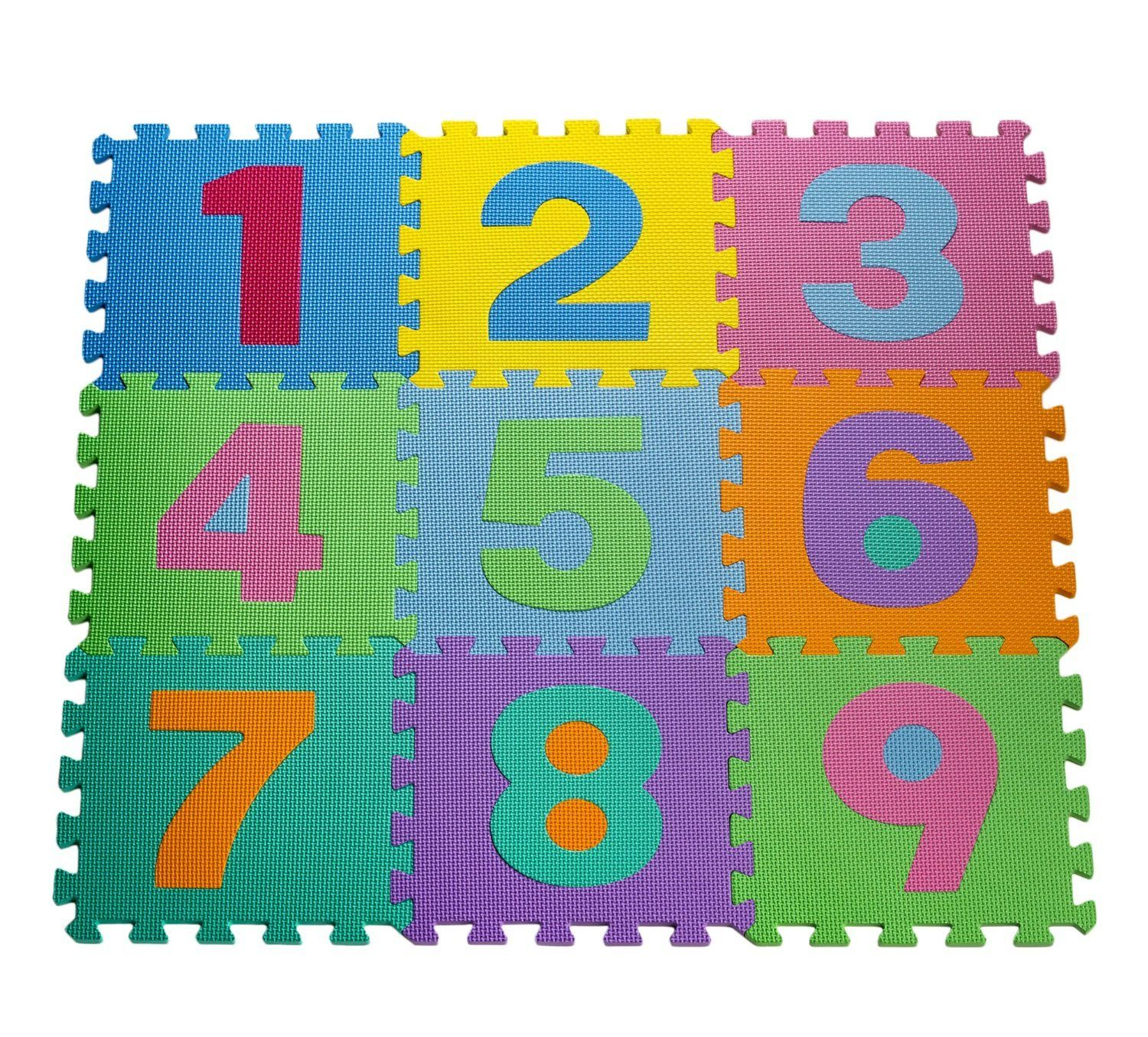 Kid's Multicolored Numbers Puzzle Play Mat ONLY $12.00!! - http://supersavingsman.com/kids-multicolored-numbers-puzzle-play-mat-only-12-00/