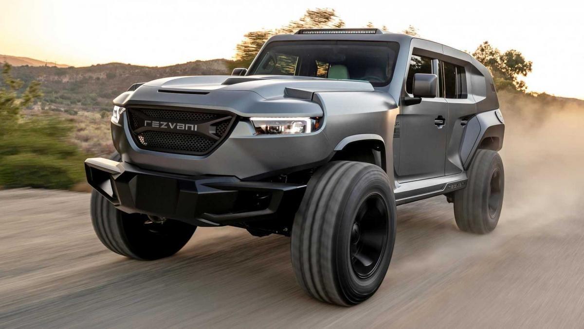 Blindado com 1000 cv é o SUV mais potente do mundo!