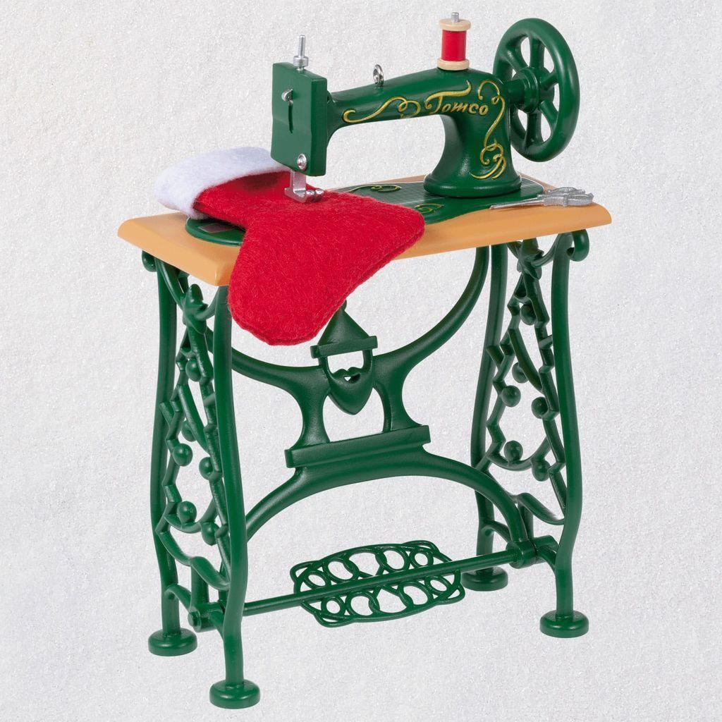 Sew Sew Happy Sewing Machine 2019 Hallmark Christmas