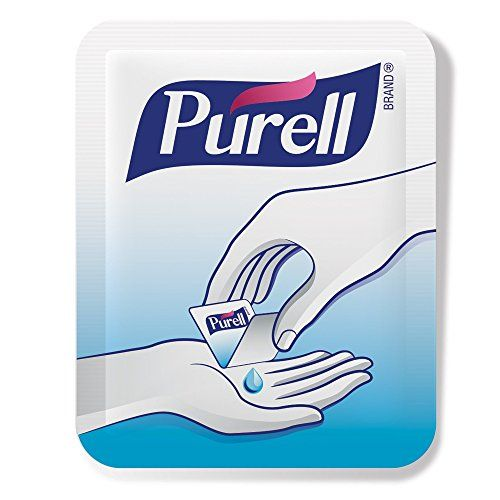 Purell 9620125ecin Advanced Hand Sanitizer Singles 125 Count