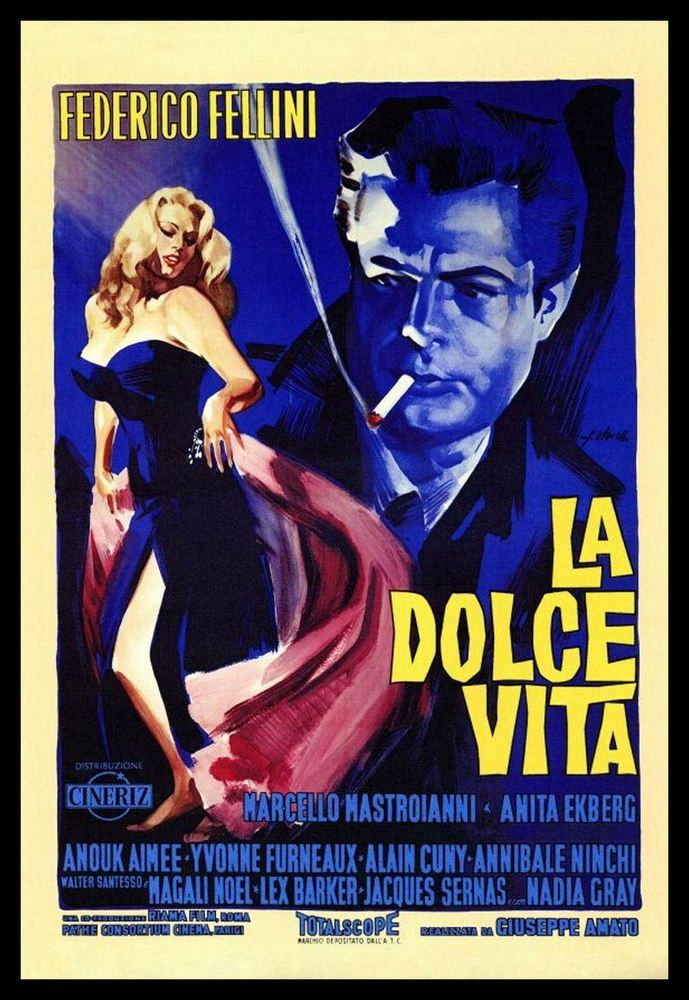 Old Italian Movie Posters