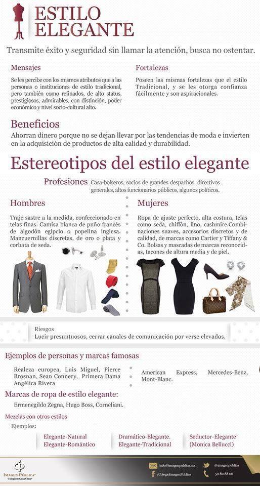 ¿Te consideras una persona de estilo elegante?   Te compartimos las características para que lo averigües.