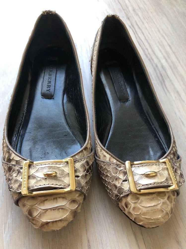 9b8a040241f6 Burberry shoes Python Snake Skin Buckle Daubeny Flats Original Box Dust Bag   fashion  clothing  shoes  accessories  womensshoes  flats (ebay link)
