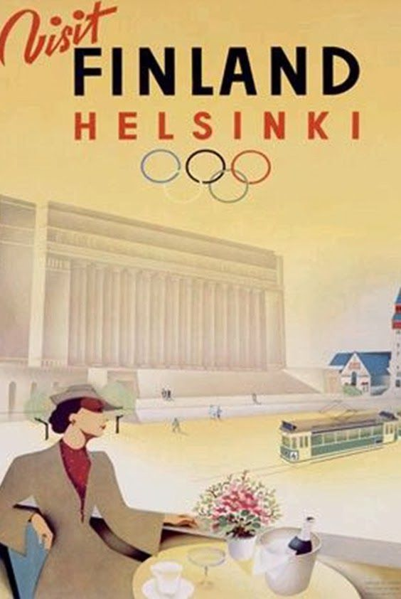 Design crush: Vintage Olympic Posters   Fitzroy Boutique