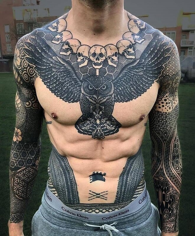 Chest Coverup Tattoo Google Search In 2020 Tattoos For Guys Cool Tattoos For Guys Badass Tattoos