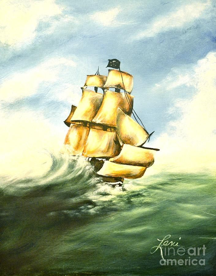 Pirate Ship Canvas Print / Canvas Art by Lani Walling | Pirate ships ...