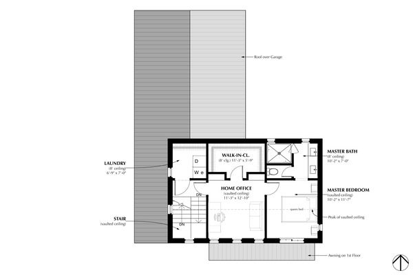 Traditional Style House Plan 3 Beds 2 5 Baths 1706 Sq Ft Plan 933 2 House Plans Farmhouse Style House Plans Farmhouse Style House