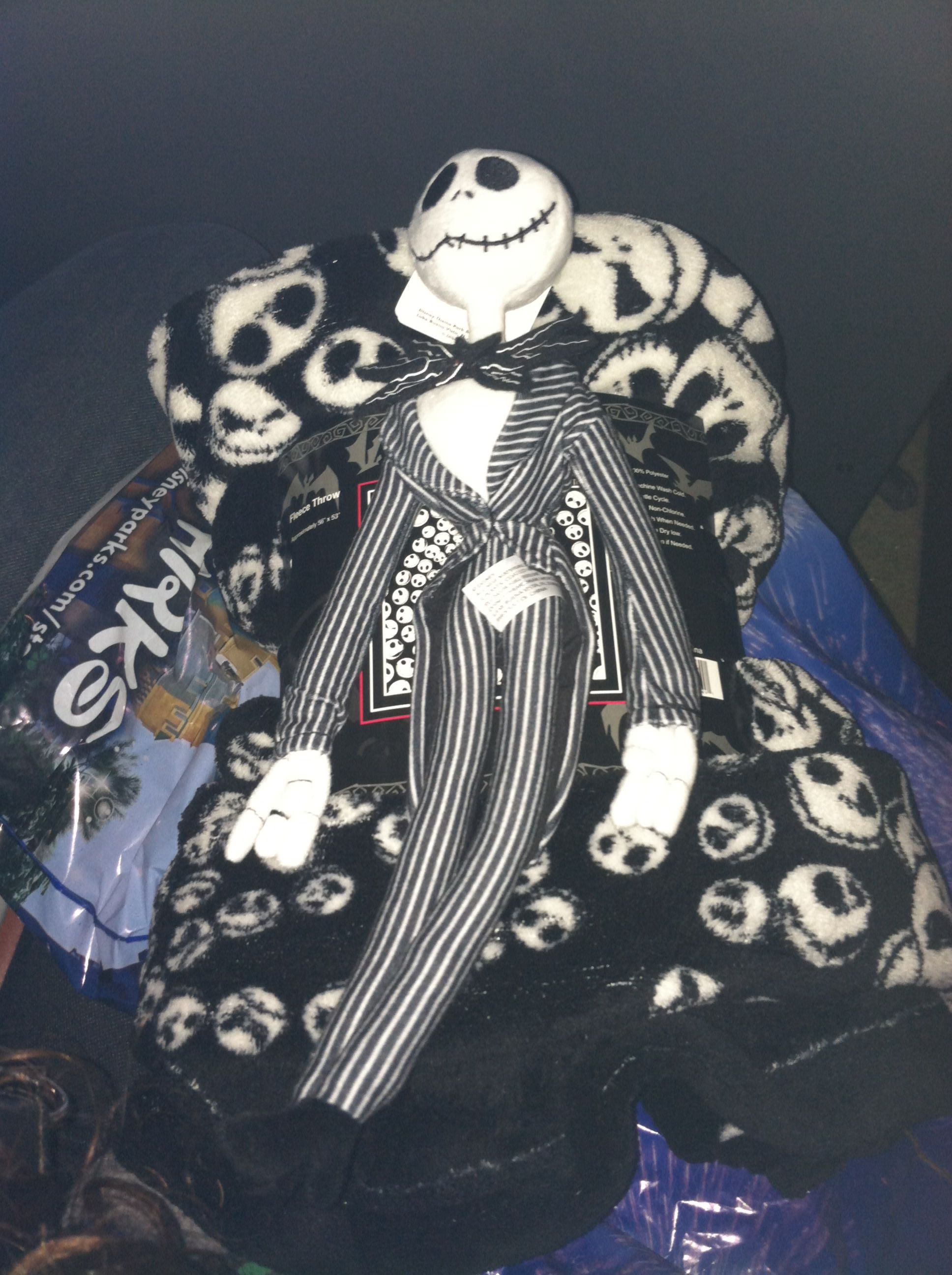 added to my jack skellington collection i m a spoiled brat this