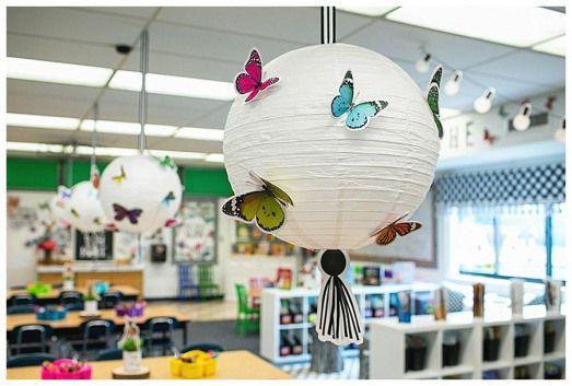 Woodland Whimsy - SchoolgirlStyle   woodland animal classroom decor butterfly classroom decor woodl