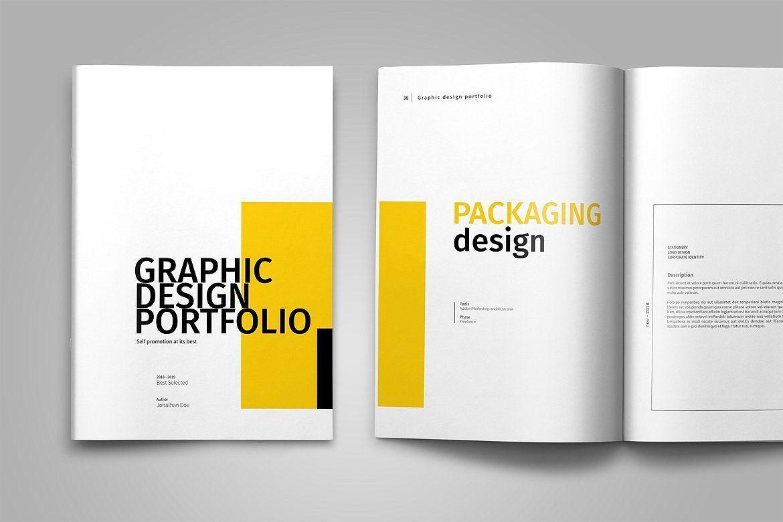 Graphic Design Portfolio Template  Graphic Design Portfolio Template