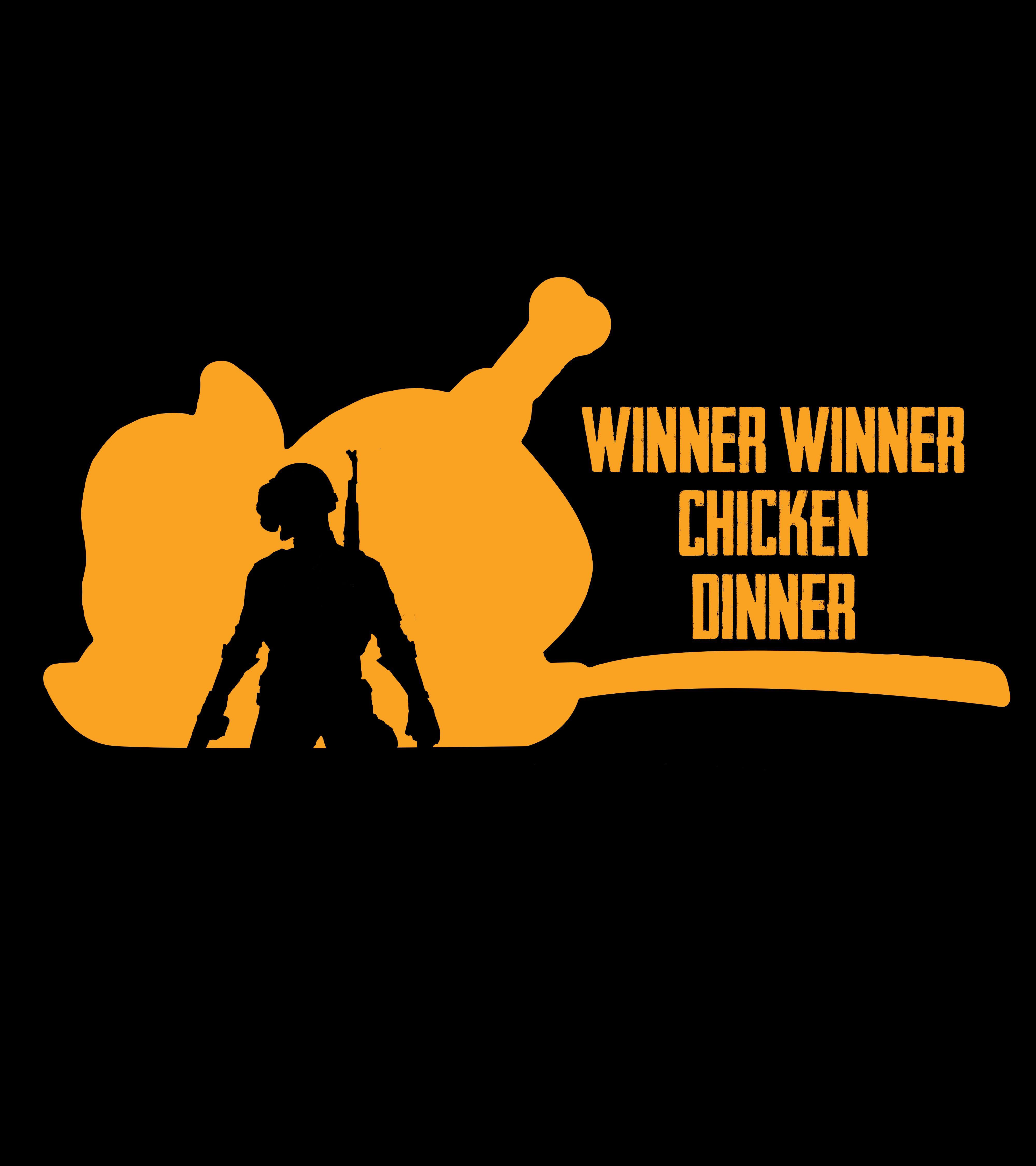 Winner Winner Chicken Dinner Pubg Custom T Shirt Winner Winner Chicken Dinner Mobile Legend Wallpaper Custom Tshirts