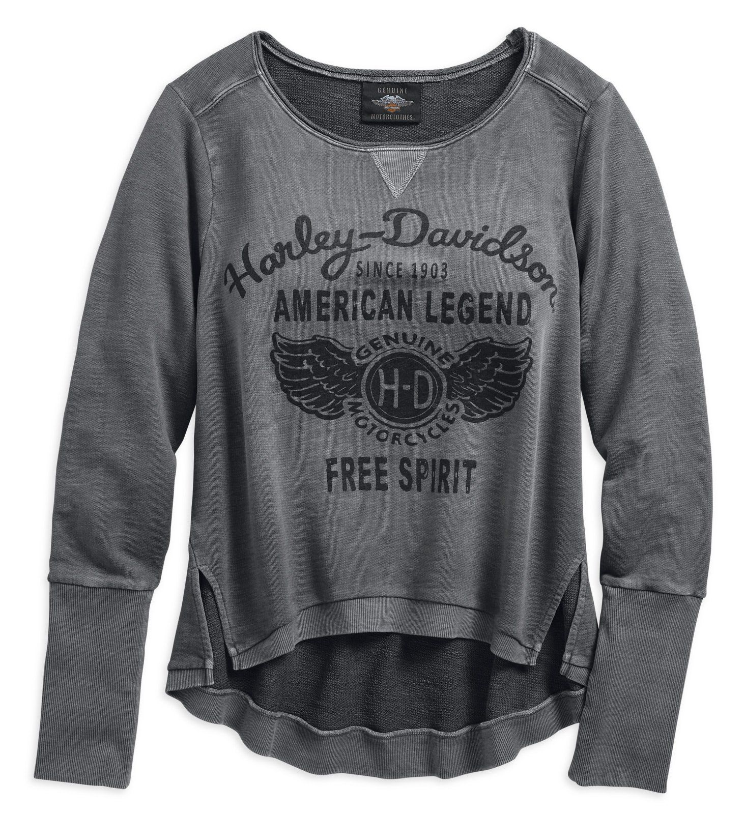 Women's American Legend Pullover Sweatshirt | Winged Logo Graphic – 96338-19VW*