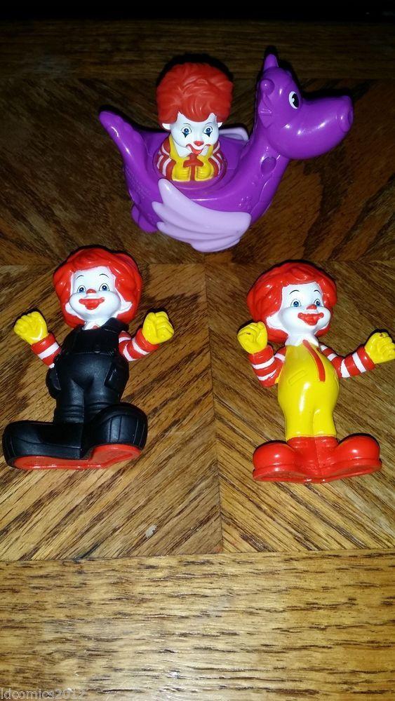 McDonalds Happy Meal Toys Ronald McDonald  #McDonalds
