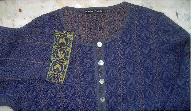 Gudrun Sjoden Gruby Kardigan Plaszcz Dzianina R S 6563550003 Oficjalne Archiwum Allegro Varsity Jacket Sweaters Fashion
