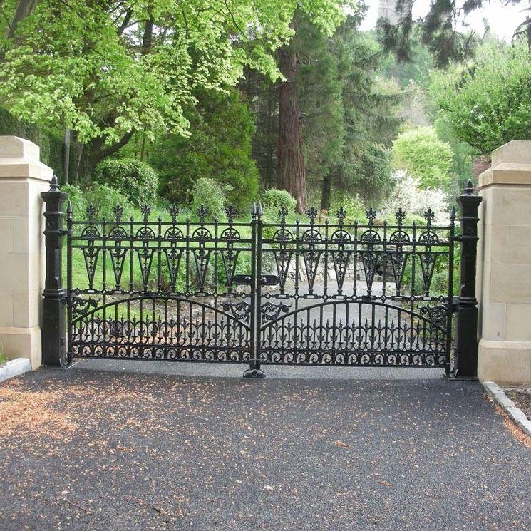 Decorative Cast Iron Driveway Gates Archives Heritage Cast Iron Usa Driveway Gate Garden Paving Gate