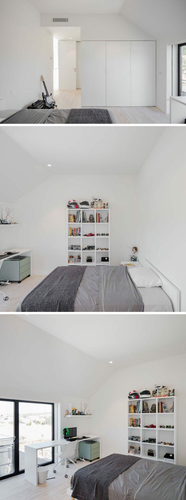 GroBartig Kinderzimmer Schlafzimmer Bett Schreibtisch Regal