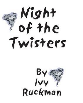 Night of the Twisters Novel Study Book Unit Distance