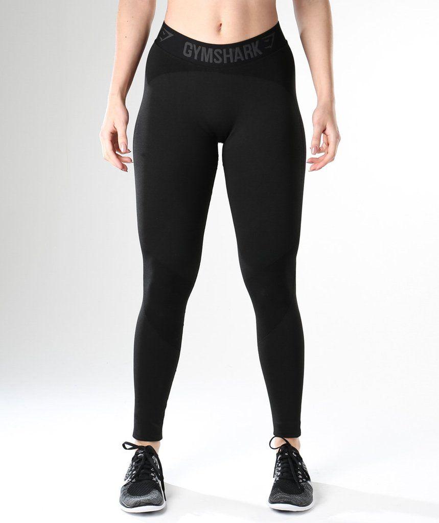 edefc01868489 Gymshark Flex Leggings - Black Marl/Black | Outfit ideas | Gymshark ...