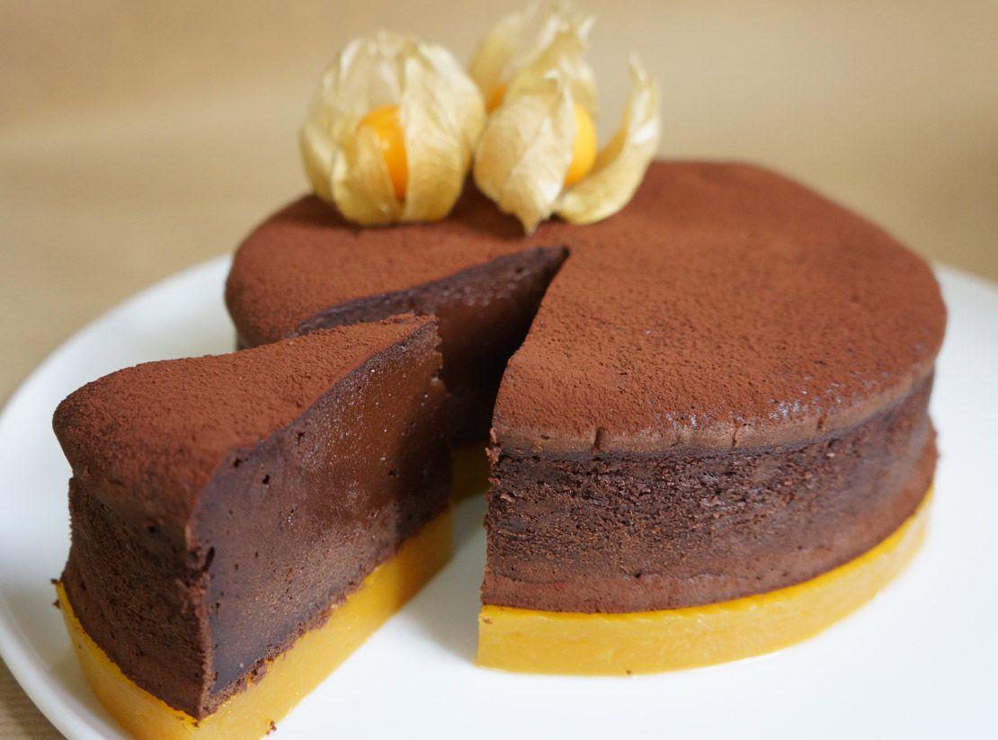 Intense Chocolate Mango Cake