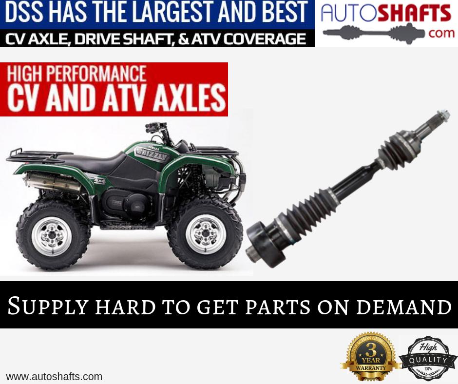Pin on ATV Axle Shafts