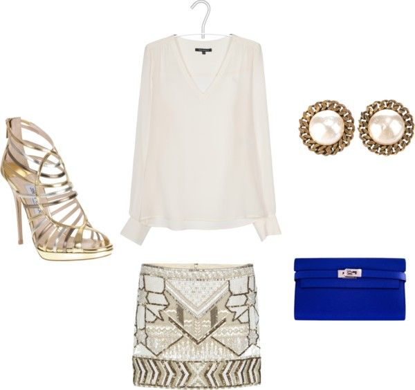 something electric in beige, created by shanyryc on Polyvore