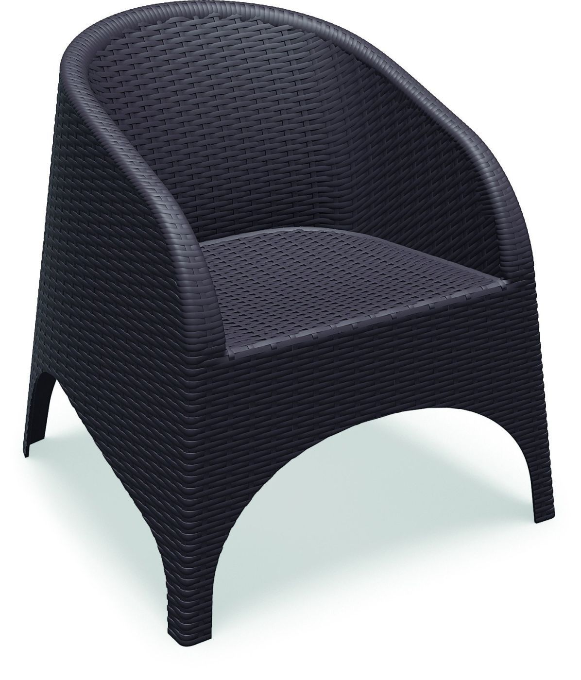 Aruba Resin Wickerlook Chair Brown Set Of 2 Outdoor Dining Chairs Patio Chairs Resin Patio Chairs