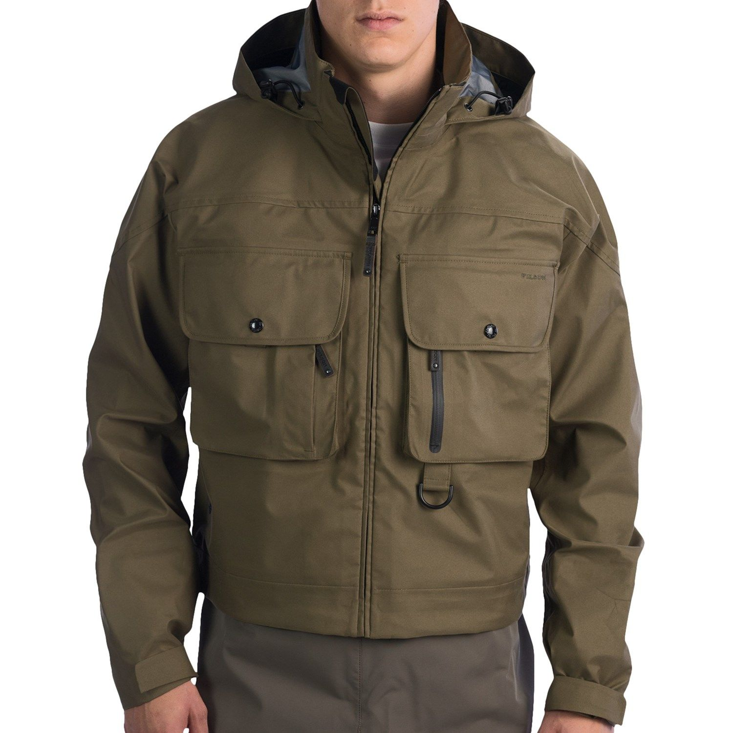 Filson Pro Guide Wading Jacket Waterproof For Men Survival Gear Clothing Outdoor Outfit Jackets