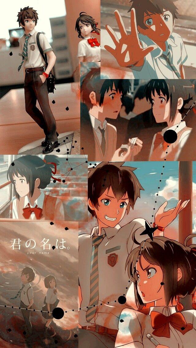 Anime Kimi No Na Wa Your Name Wallpaper Lockscreen Hd Fondo De