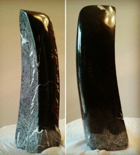Paralelismo m rmol negro marquina talla directa 60x20x10 - Marmol negro marquina ...