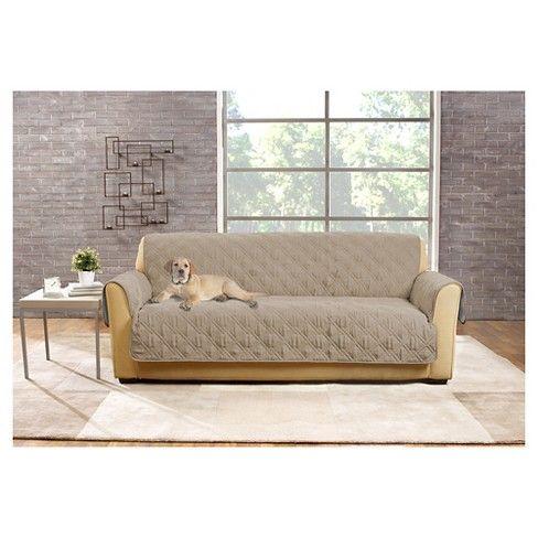 Surprising Non Slip Waterproof Sofa Furniture Protector Chocolate Machost Co Dining Chair Design Ideas Machostcouk