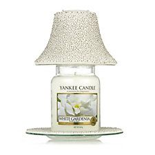 Yankee candle bubble mosaic shade tray with white gardenia large yankee candle bubble mosaic shade tray with white gardenia large jar mozeypictures Gallery