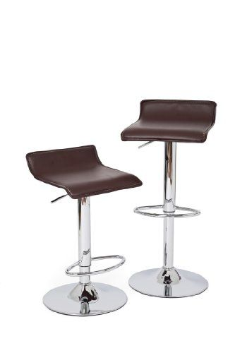 RST Brands Klein IPBST10022BR Leather Barstool 2Pack * Check this out by going to the link at the image.