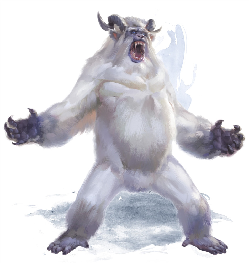Abominable Snowman Google Search Yeti Pictures Creature Art Creatures