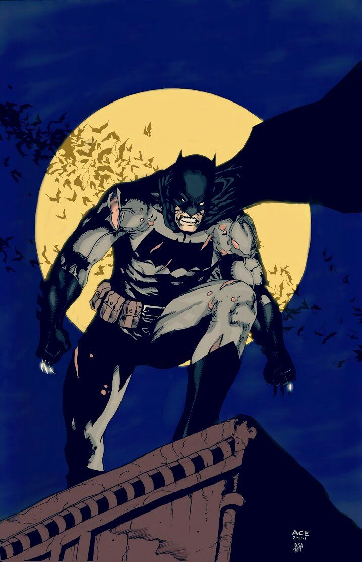 Dark Knight Returns By Arissuparmanart Batman Comics Batman