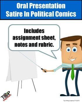 Oral Presentation Satire In Political Comics Top Writing Academy