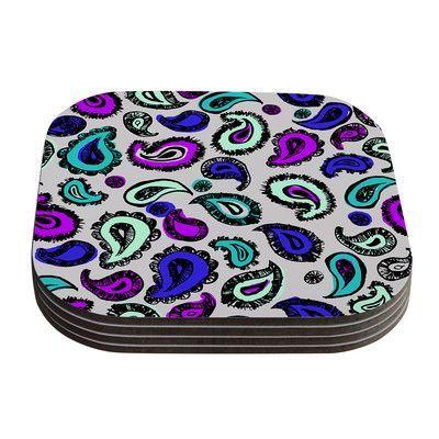 KESS InHouse Fun by Gabriela Fuente Coaster Color: