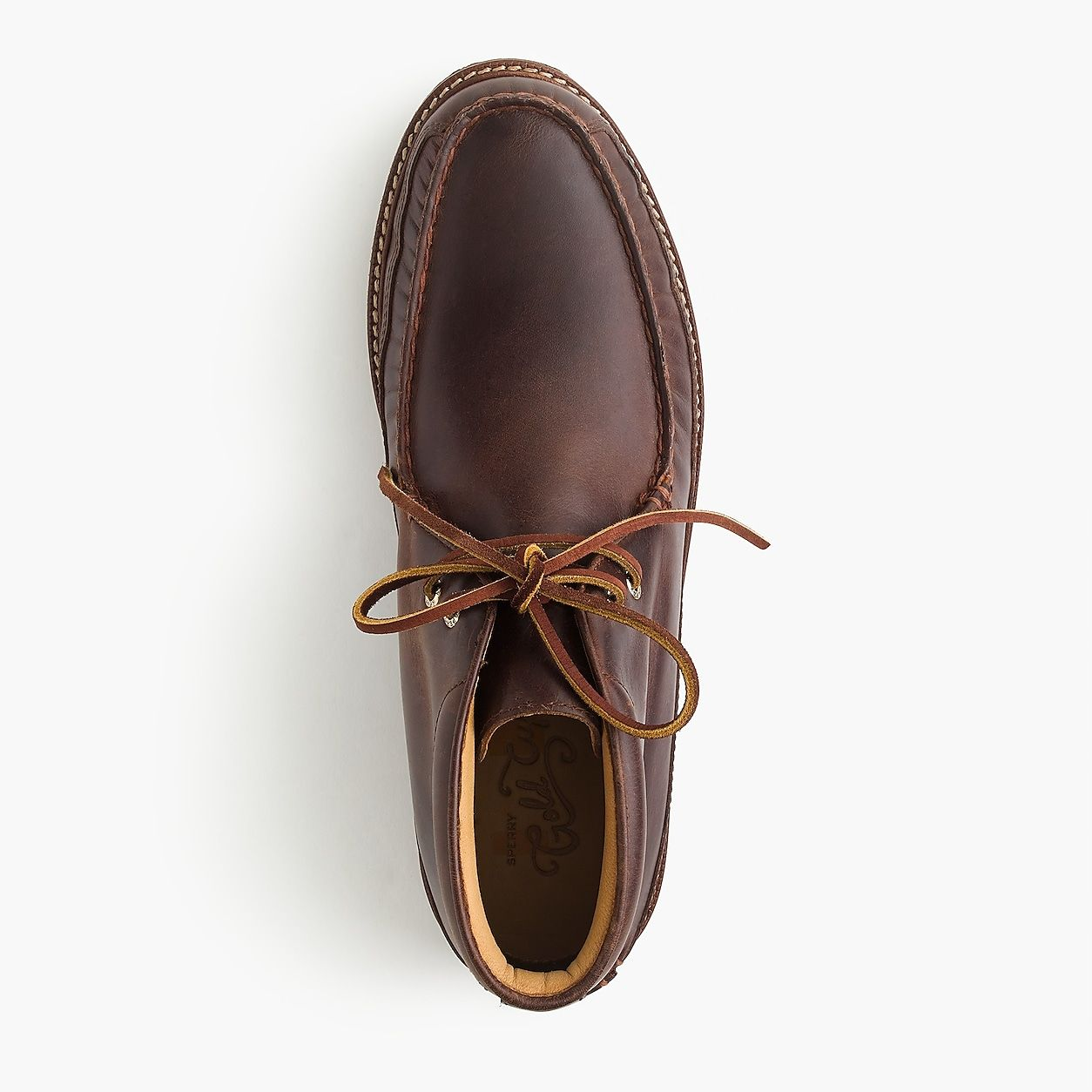 Sperry Gold Cup Crepe Soled Leather