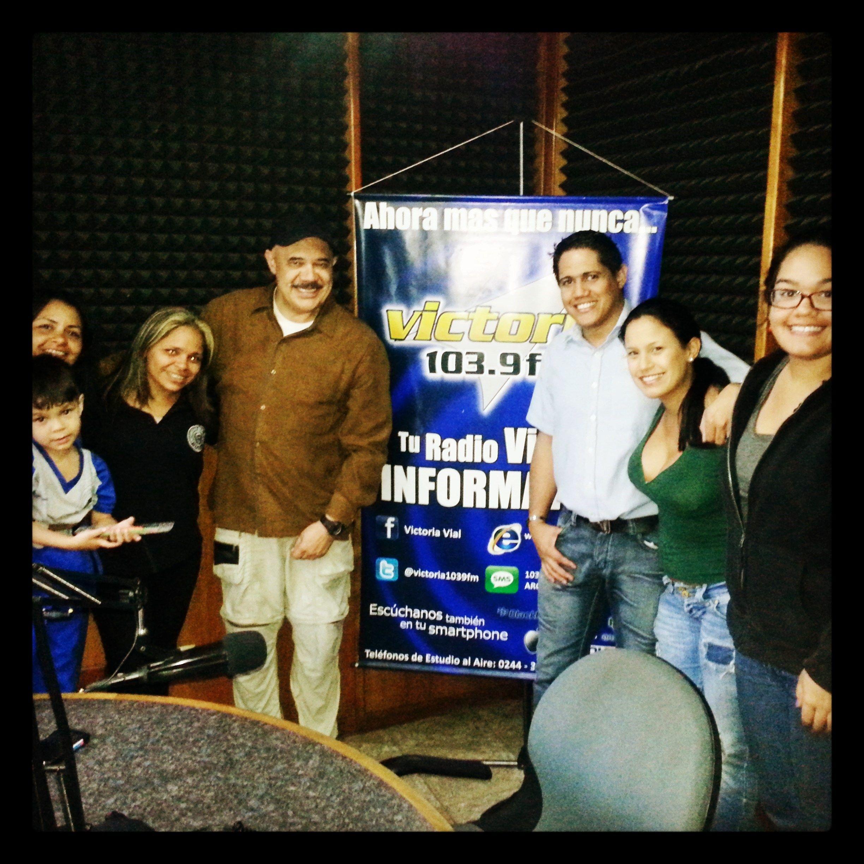 Hoy estuvo de visita en #VictoriaFM el periodista Jesús Torrealba #Victoria1039FM #LaVictoria #Radio #InfoVial #Vías #TuRadioVial