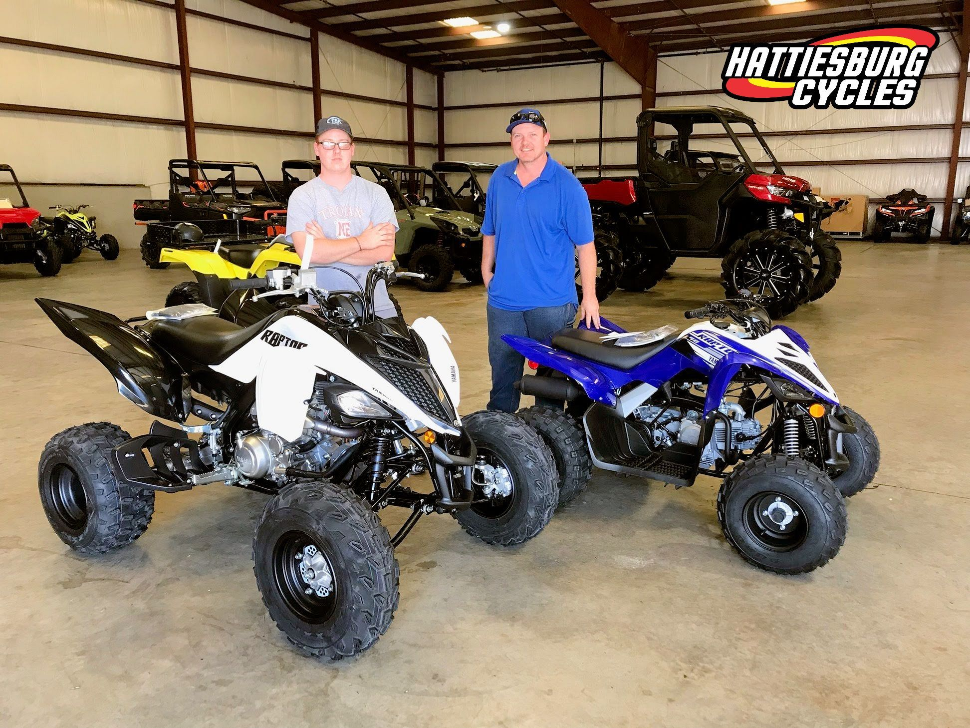 Congratulations To The Mosley Family From Lauderdale Ms For Purchasing A 2020 Yamaha Raptor 700 And A 2019 Yamaha Yamaha Raptor 700 Hattiesburg Monster Trucks