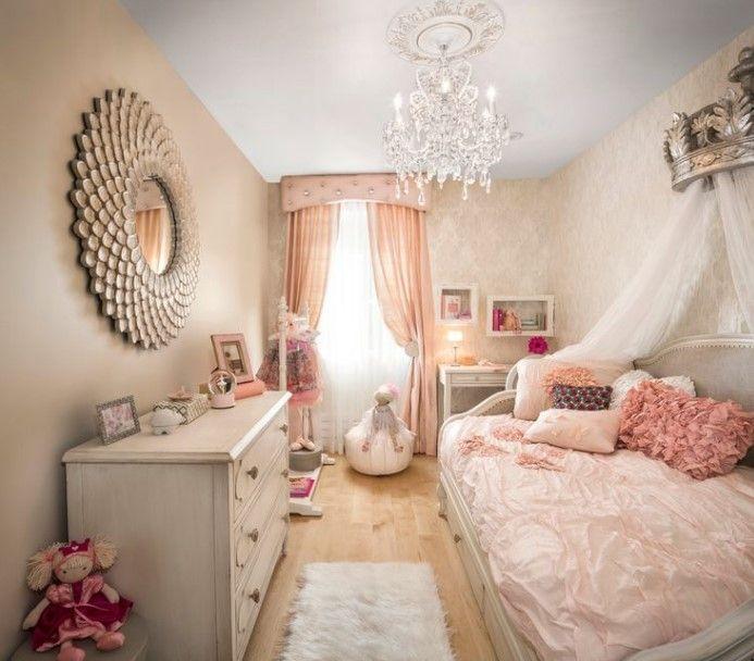 50 Cute Teenage Girl Bedroom Ideas How To Make A Small Space Feel Big Girl Room Girly Bedroom Girly Room