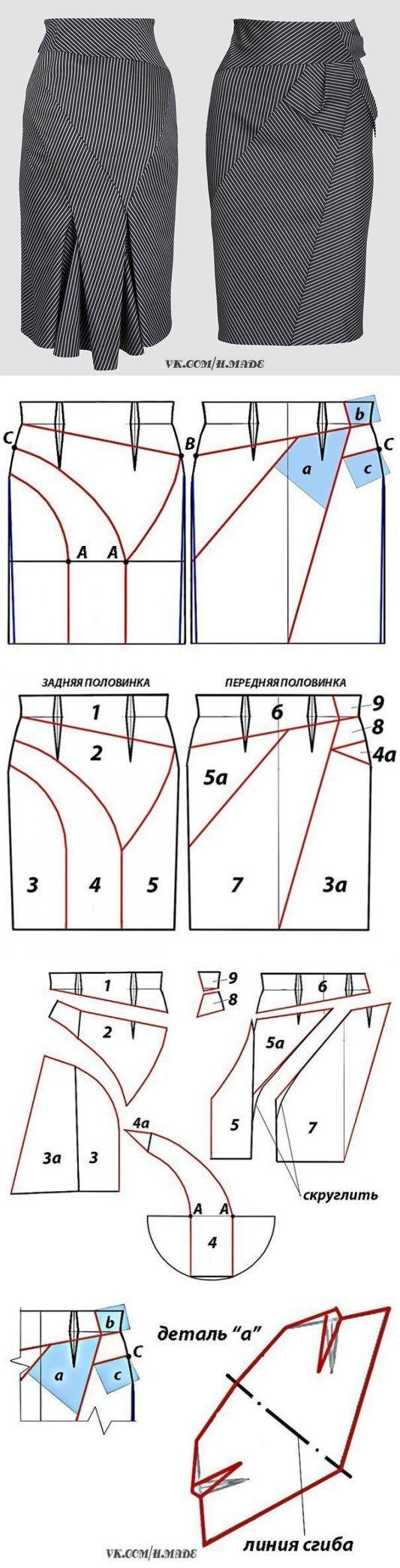 Шитье и крой для себя   Falda, Costura y Patrones