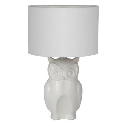 Ceramic Owl Table Lamp At Homebase Be Inspired And Make