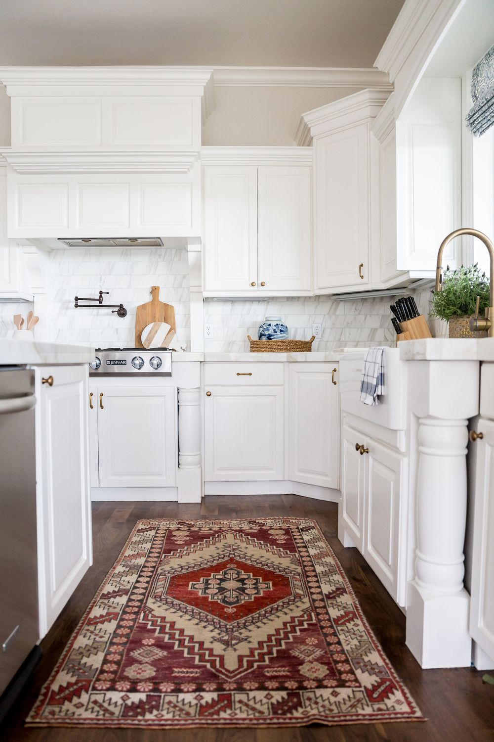 Sourcing Antique Rugs: Part 2 | Studio mcgee, Kitchens and Sinks