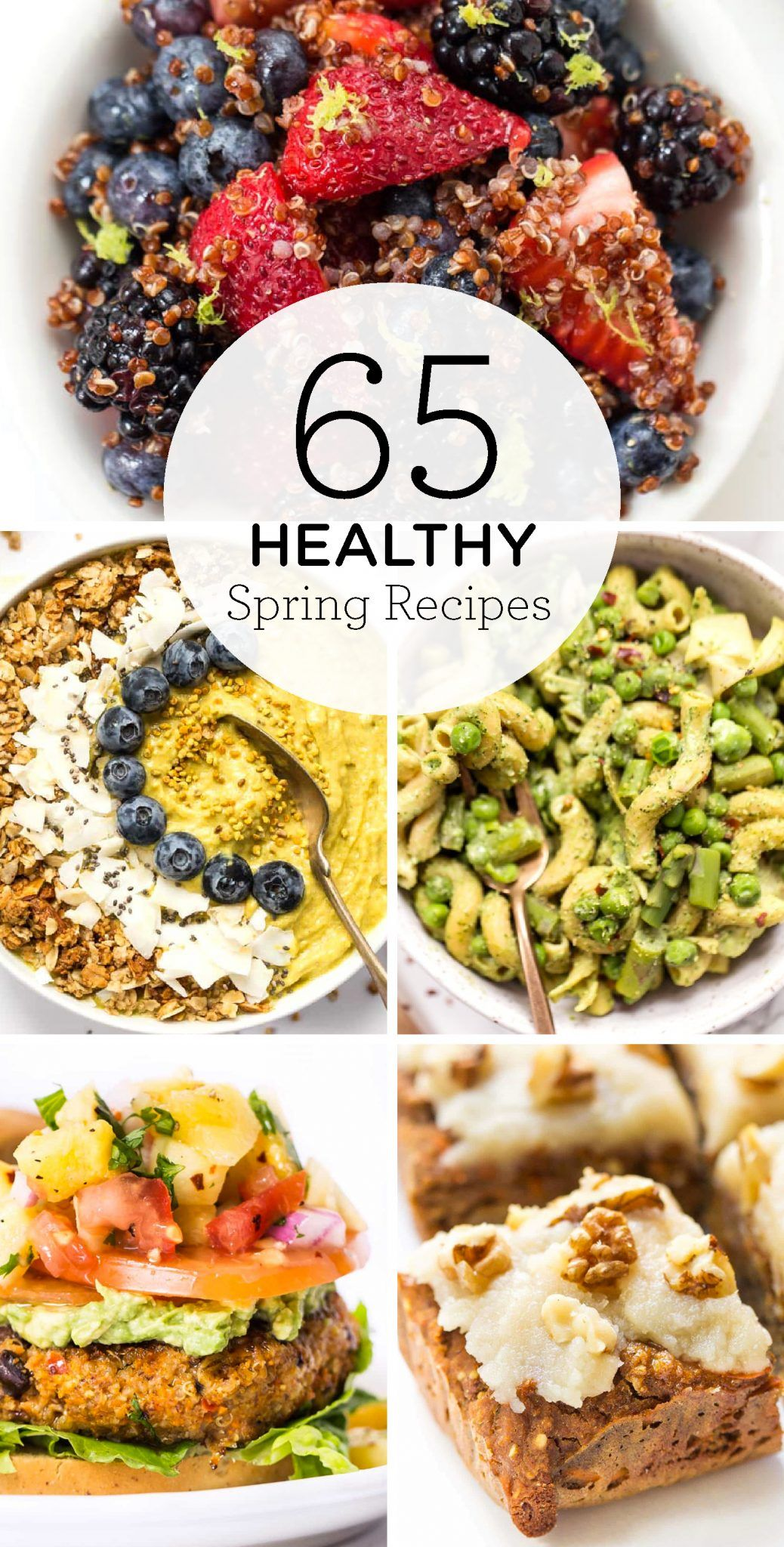 65 Healthy Spring Recipes Clean Eating Recipes Healthy