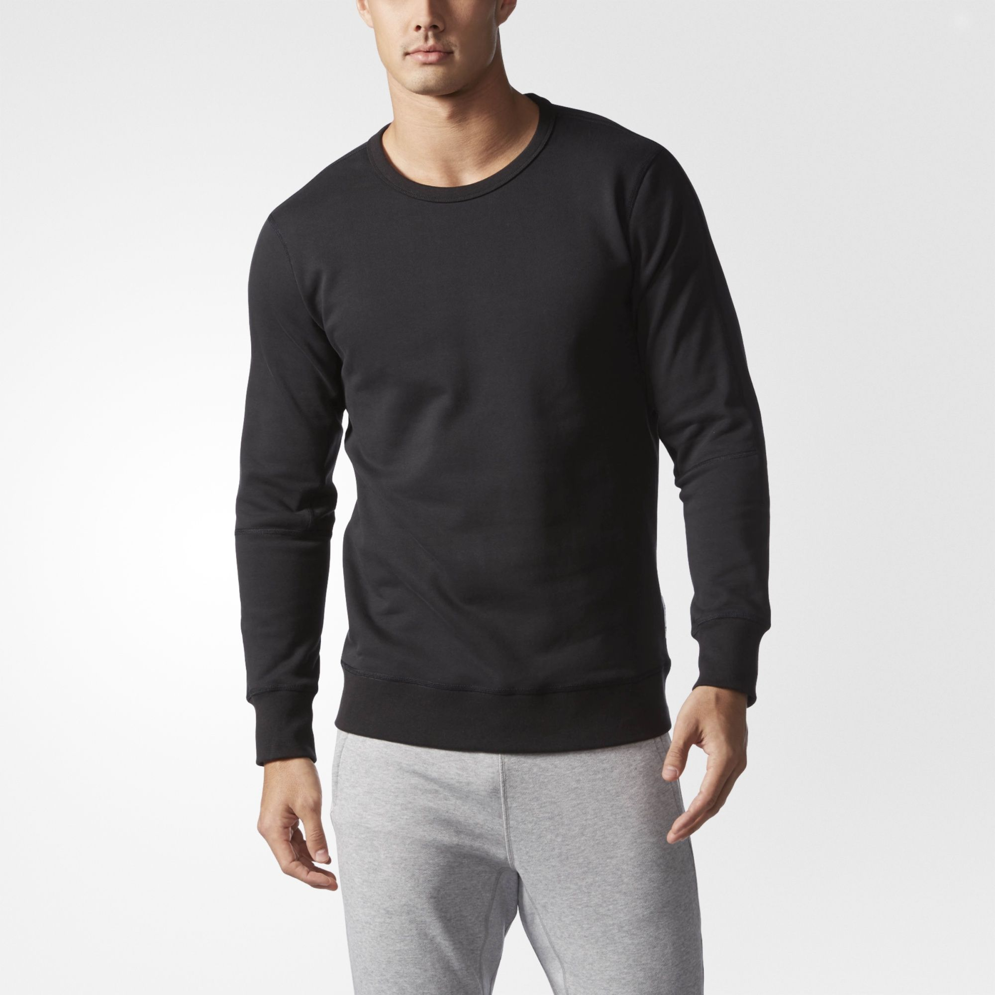 A Cozy Top Layer For Chilly Days This Men S Sweatshirt Features Ribbed Cuffs And Hem For A Snug Fit Mens Sweatshirts Hoodie Long Sleeve Tshirt Men Hoodies Men [ 2000 x 2000 Pixel ]