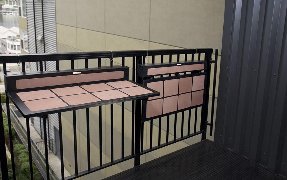 Tavolo Mount Table Home Decor Ideas Balcony Railing Balcony