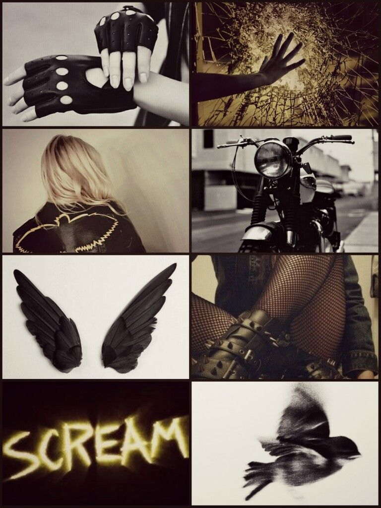 Black aesthetic Black aesthetic, Black canary, Aesthetic