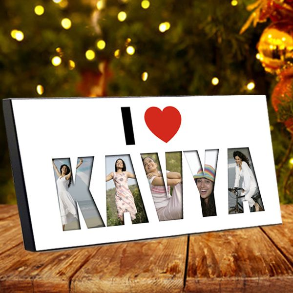 I Love You Name Photo Collage Frame Looking for something different ...