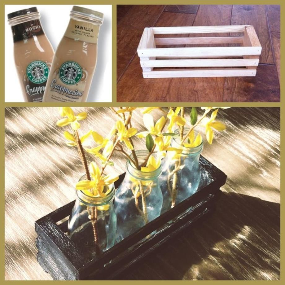 25 simple but beautiful crafts with starbucks glass