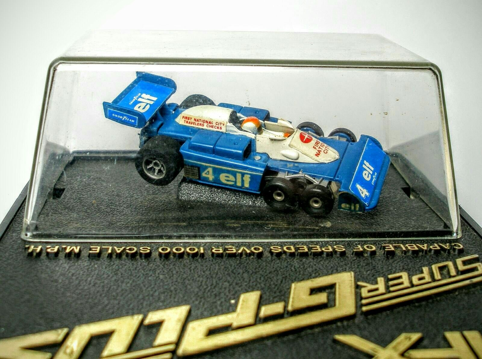 Aurora Super G Plus Elf 6 Wheel Modeled After Patrick Depailler S 1976 Mount Slot Car Racing Slot Cars Toy Car